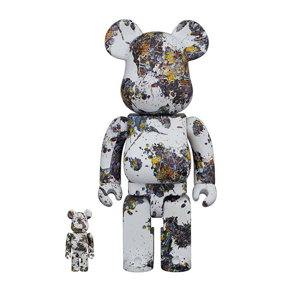 Medicom Toy BE@RBRICK Jackson Pollock SPLASH  400% 100% set