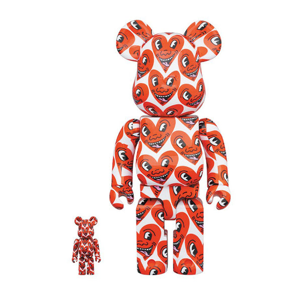 Medicom Toy BE@RBRICK x Keith Haring #6 400% 100% set