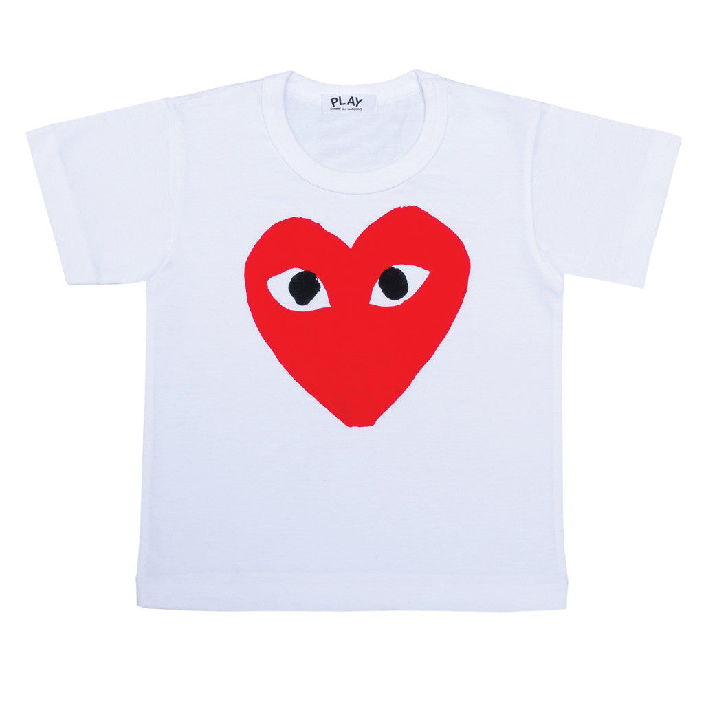 COMME des GARCONS PLAY Kids Red Heart T-Shirt