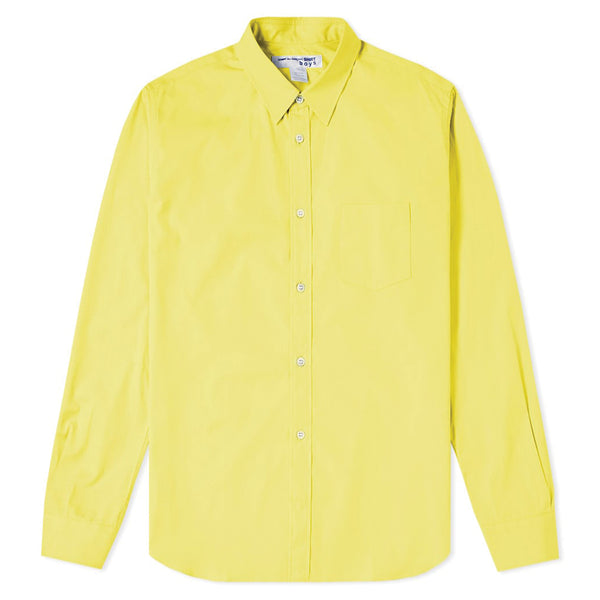 COMME des GARCONS SHIRT Logo Printed Shirt Yellow