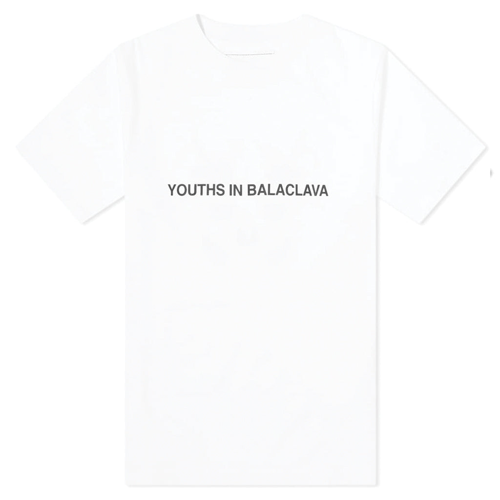 Youths in Balaclava Photochromic T-Shirt White