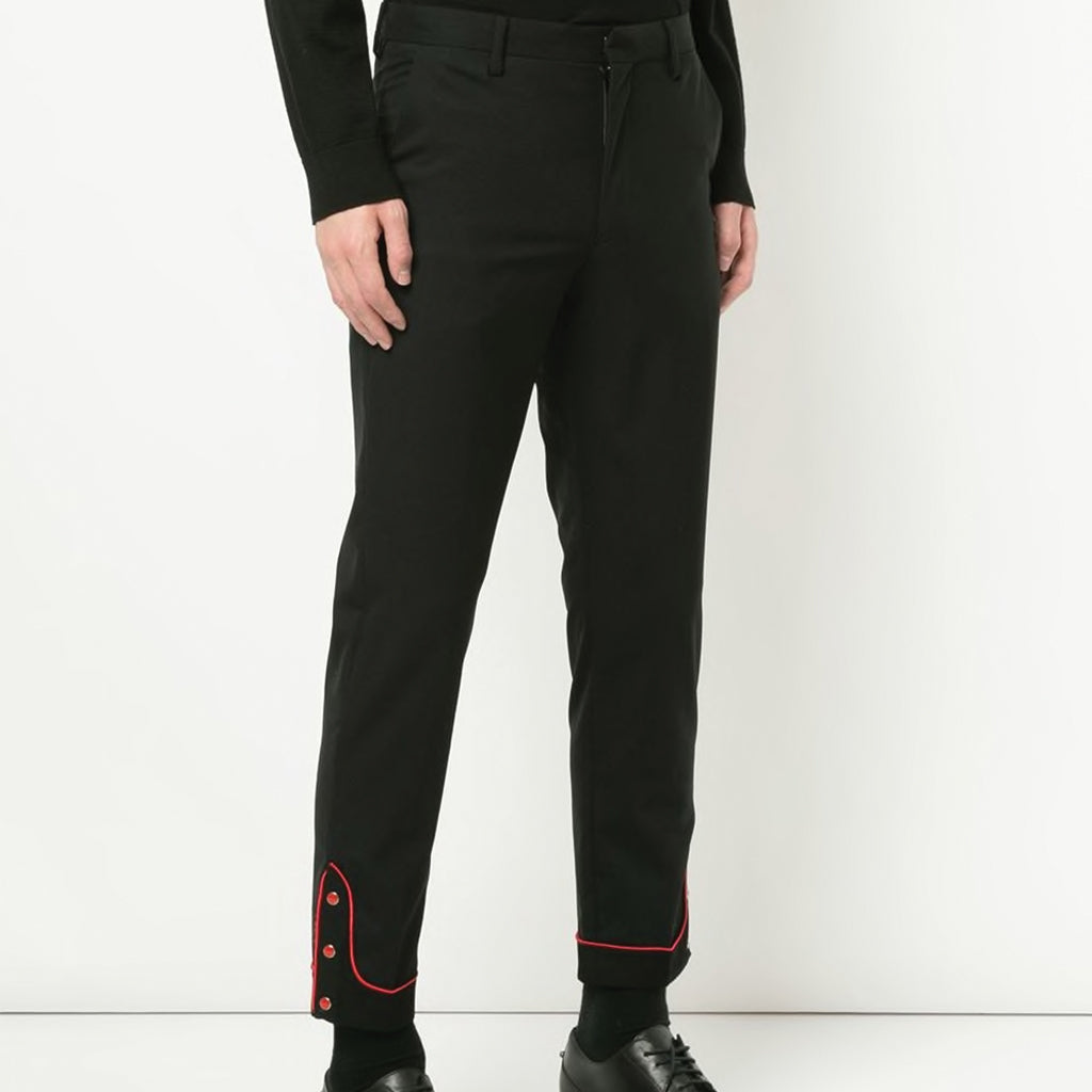 JohnUNDERCOVER Wool Button Trousers