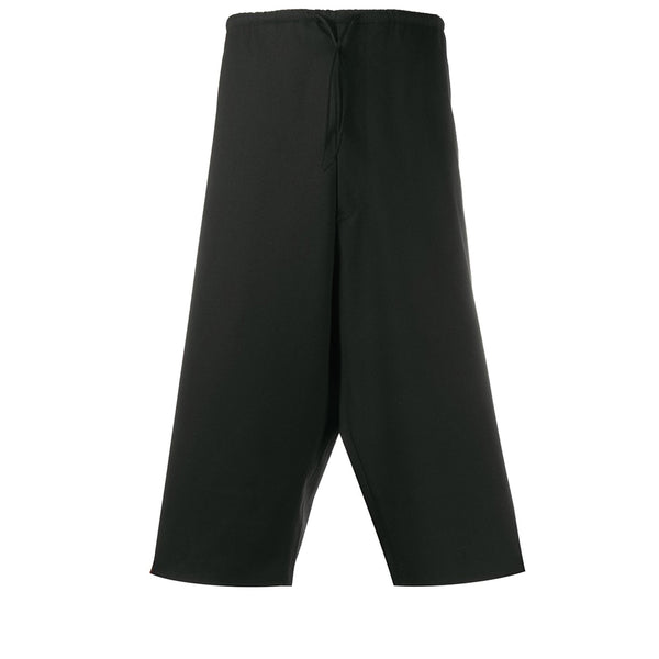 adidas Y-3 Yohji Yamamoto 3 Crafted 3-Stripe Shorts Black for Men