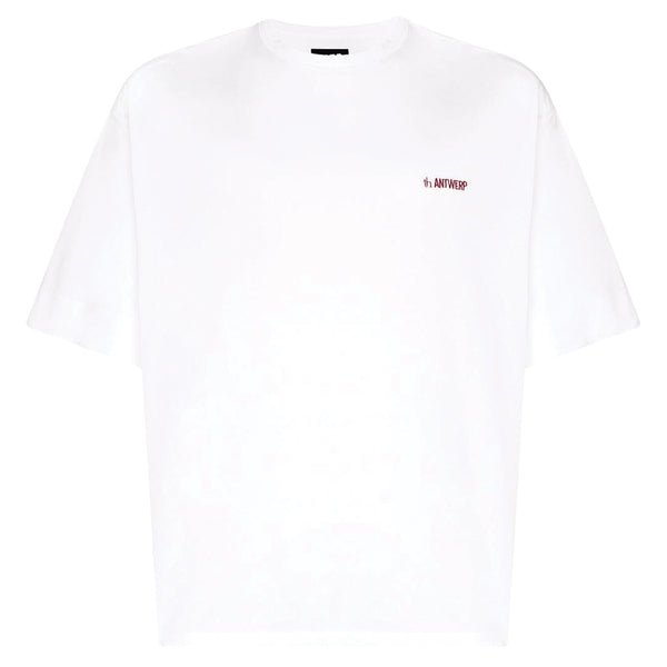 x th. products Taro Horiuchi x SK8THING Graphic Printed T-Shirt White