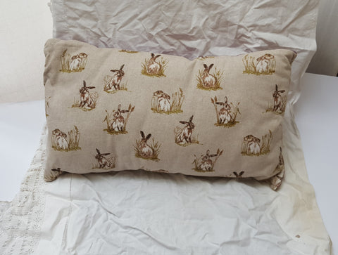 Rectangular Hare Cushion