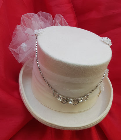 Hand Decorated Top Hat