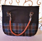 Welsh Wool Hand Crafted Handbag