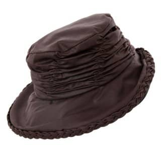Women's Wax Hat / Short Back Brim