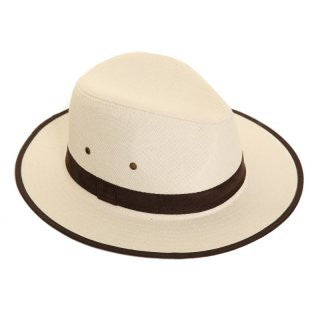 Unisex Elegant Summer Fedora with Faux Suede Band