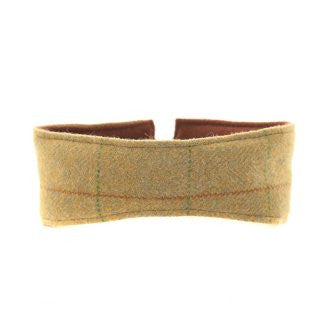 Ladies Tweed Headband with Fleece Lining