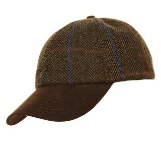 New Unisex Tweed Baseball Cap