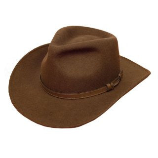 Unisex Brown Fedora