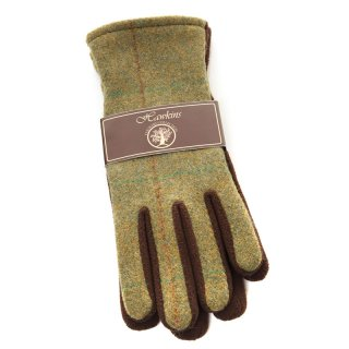 Ladies Tweed Gloves
