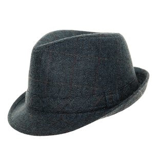 Adults Unisex Tweed Trilby. – Country Essentials Norfolk d485251e602