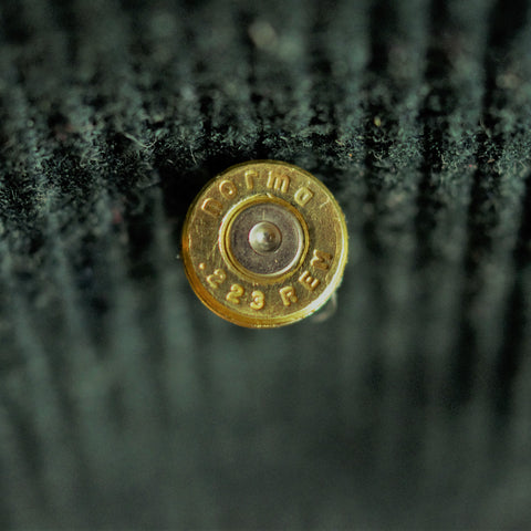 Gun Shell End Tie Pin/ Lapel Pin