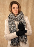 Dents Soft Woven Blanket Scarf