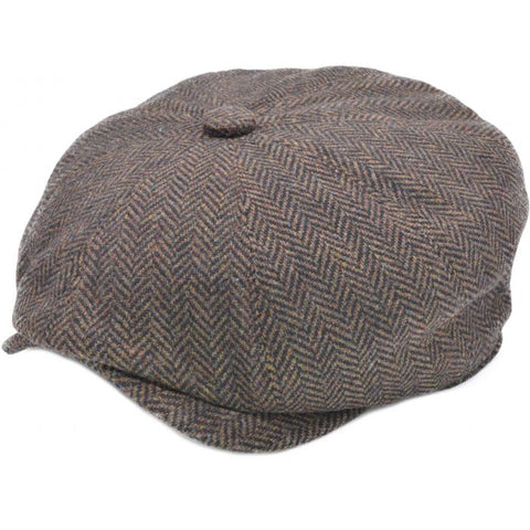 Herringbone Large Pattern Baker Boy ( Peaky Blinder )