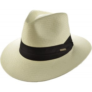 Summer Panama Hat White with Adjuster