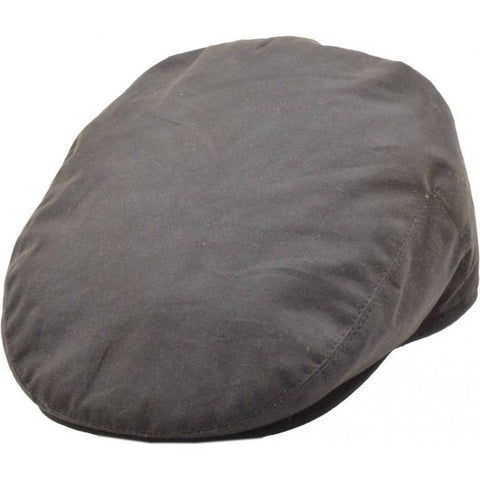 Adjustable Wax Flat Cap