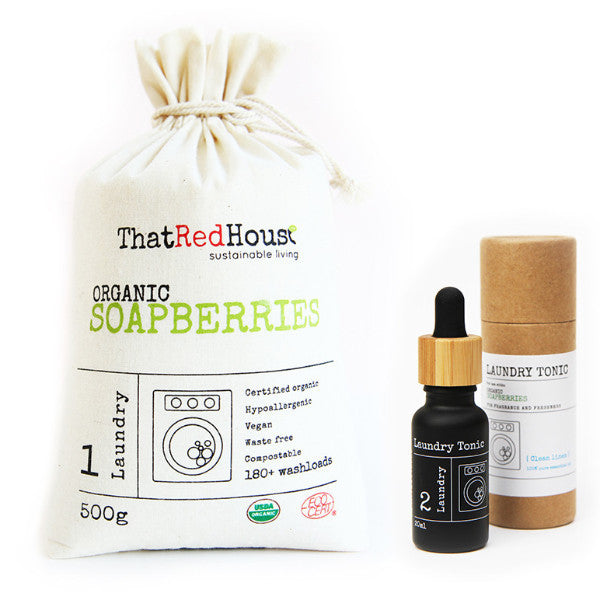 Bonus Pack - 500g Soapberries + Laundry Tonic