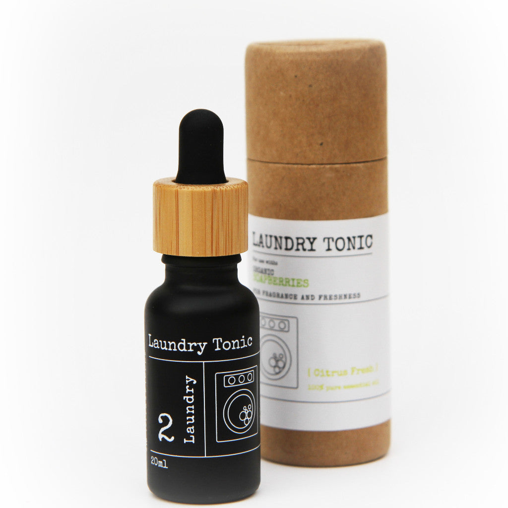 Laundry Tonic 'Citrus Fresh' - 20ml: 100% Pure Essential Oil