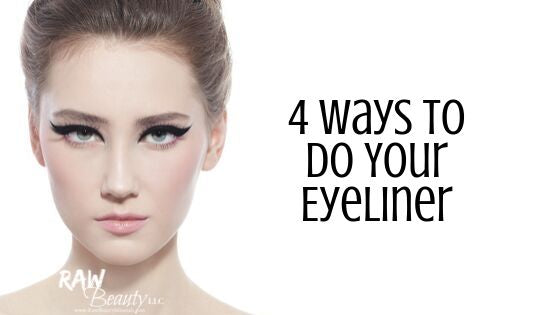 4 Ways to Do Your Eyeliner