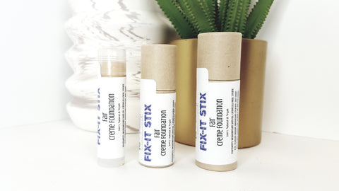raw beauty minerals fix it stix natural and vegan concealer cream foundation stick