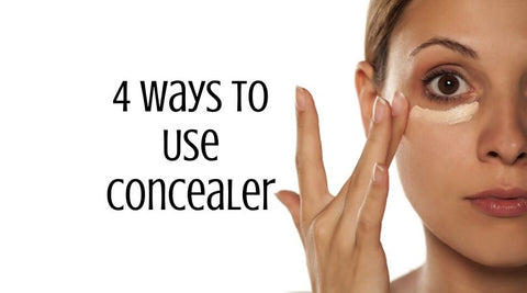 4 Ways to Use Concealer by raw beauty minerals