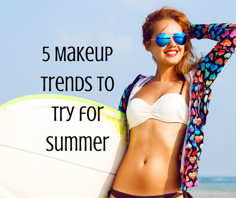 5 makeup trends for summer
