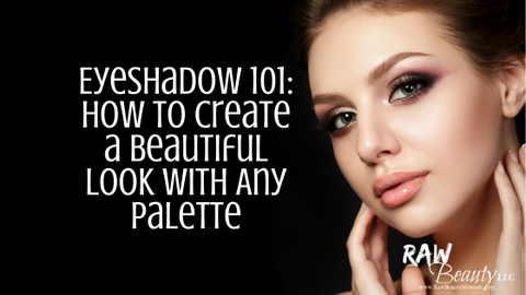 Eyeshadow palette applying tips