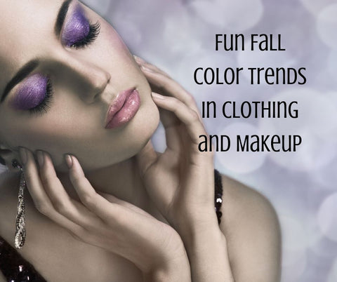 fall color trends to try purple eyeshadow from raw beauty minerals