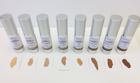 raw beauty minerals tinted moisturizers in nine beautiful shades
