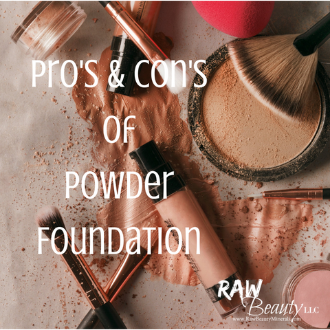 mineral foundation powder and liquid foundation