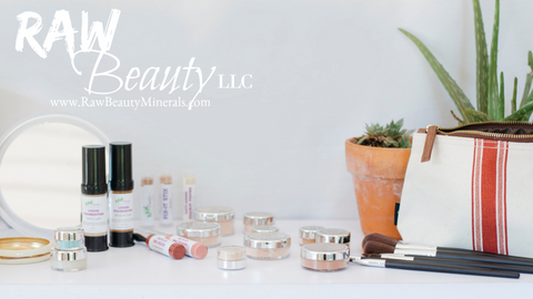 Natural and vegan cosmetic brand you can trust raw beauty minerals