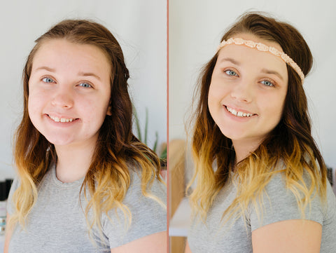 raw beauty before and after natural makeup makeover