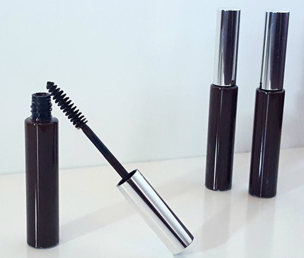 vegan mascara in black or brown