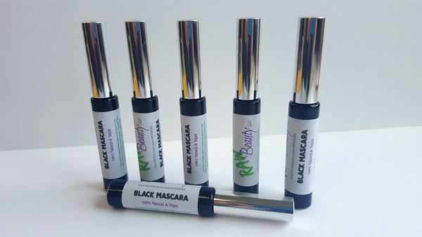 black and brown vegan mascara all natural product