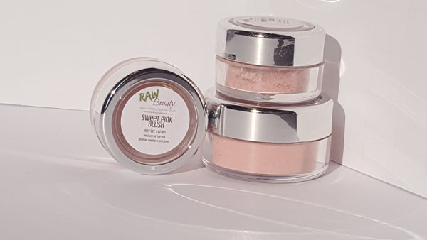 natural highly pigmented blush for cheek tint pale pink