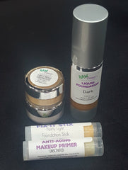 natural makeup foundation starter set for raw beauty minerals