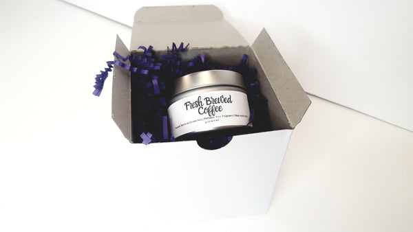 Coffee Natural Soy Candle | Hand-Poured and Hand-crafted | Fresh Brewed Coffee