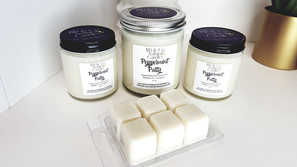 Peppermint Patty | Natural Soy Candle | Hand-Poured and Hand-crafted