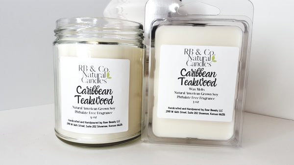 tropical scented candle phthalate-free dye-free candles
