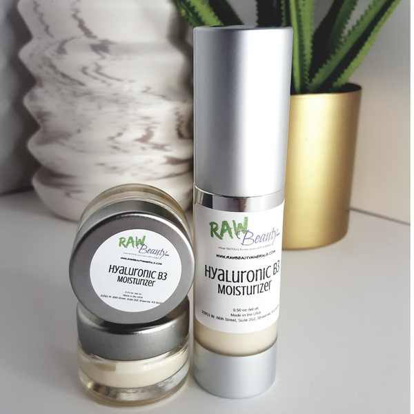 Hyaluronic B3 Moisturizer | Vegan Day and Night Face Cream