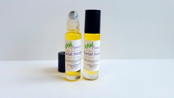 anti aging facial serum with carrot seed essential oil for overnight perfection