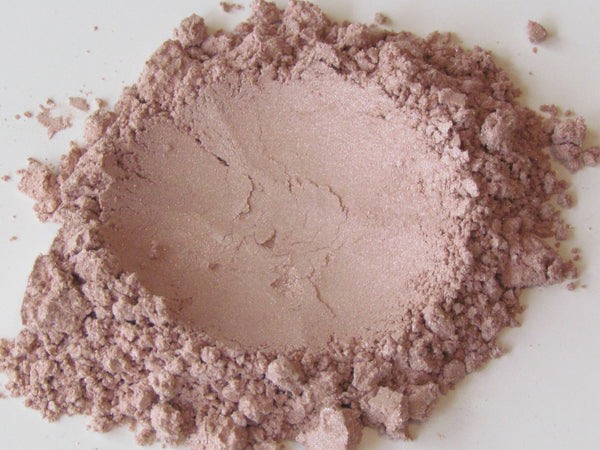 100% pure mineral eye makeup shimmery pigment blush with shimmer