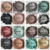 Shimmery eye shadow shades are perfect for any look