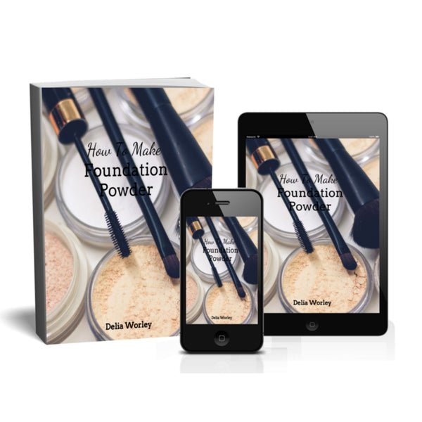 Ebook- Make Your Own Natural Foundation Powder
