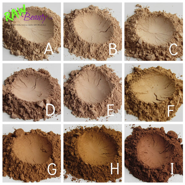natural foundation powder, vegan makeup for wholesale or private label low minimums