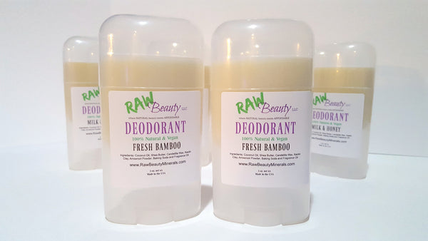 raw beauty natural and vegan deodorant for men and women
