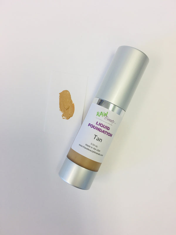 all natural and vegan natural liquid foundation creamy bb cream in airless pump